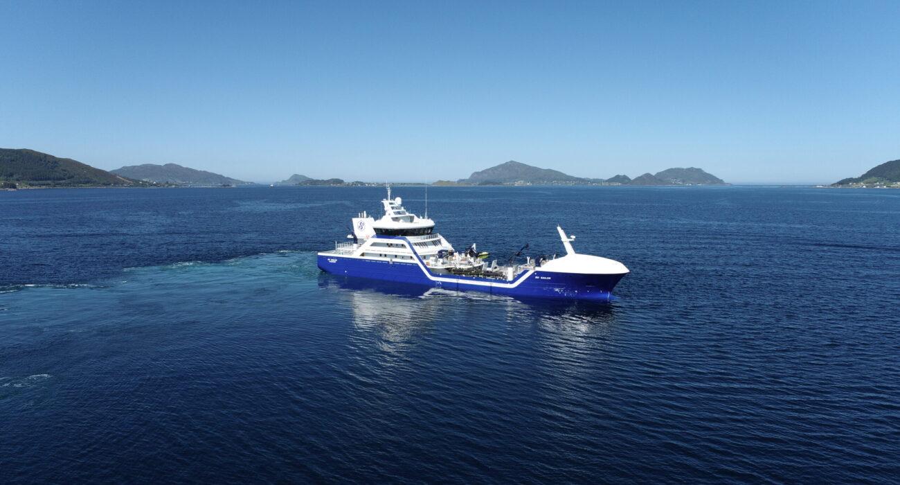 Ro Sailor, Rosteins nyeste brønnbåt fra Larsnes Mek.